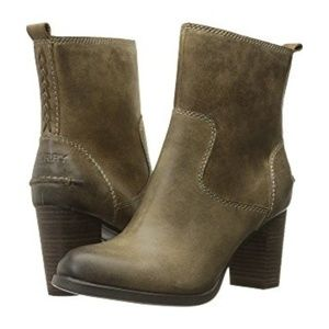New Sperry Top Sider Leather Dasher Boots Sz. 7M